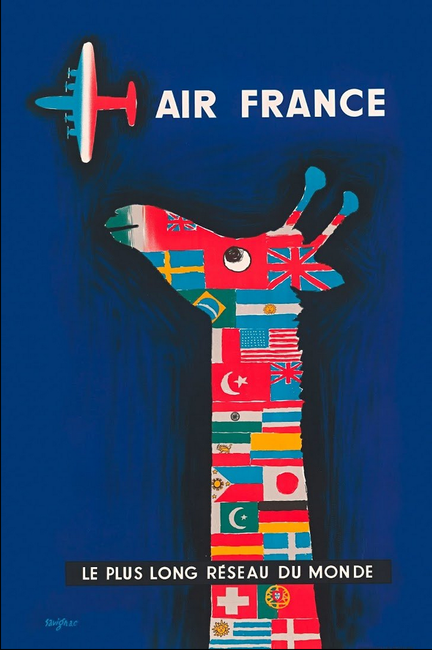 New York Times - Vintage Airline Posters